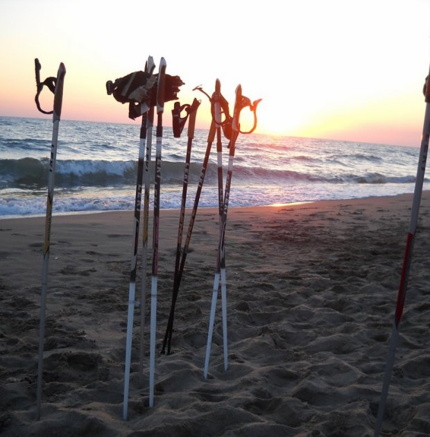 Nordic Walking in notturna tra stelle e mare!